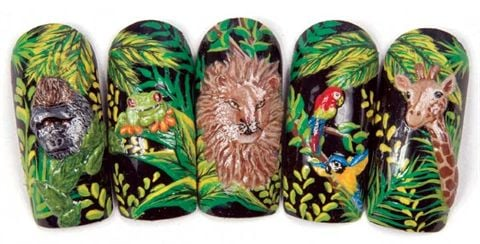 Welcome to the Jungle  Style  NAILS Magazine
