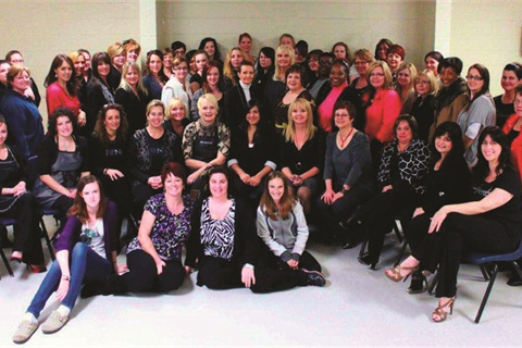 On Sunday November 13 70 Nail Professionals Gathered In London Ontario Canada For The Third Annual Cntc Working Event
