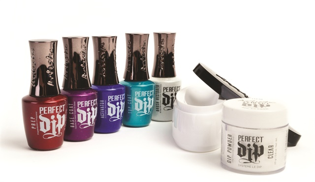 Artistic Nail Design S New Perfect Dip System Features Fast Application That Makes It Easy To Achieve A Color Payoff Or Smile Line