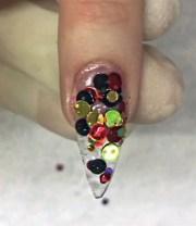 art of acrylic nail design