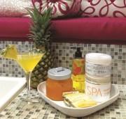 signature service orange pineapple