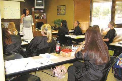 P Color My Nails School Of Nail Technology Brings In Guest Speakers Such