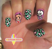 nail art scream