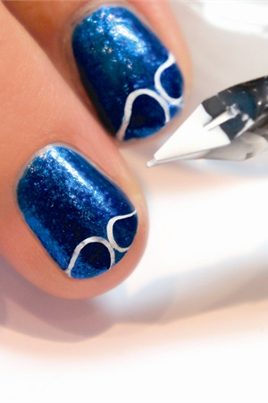 Painting Gel Nail How To Use The Uv Led Color Art Salon Soak Off 1 Wash Hands Wipe And Remove Cuticle 2 Brush A Thin