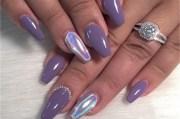 ultra violet manis pantone's