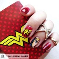 Wonder Woman Nail Art - - NAILS Magazine