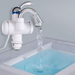 Instant Water Heater Kitchen Sink Cute Utensils Buy Electric Heating Tap Surface Mount Online At