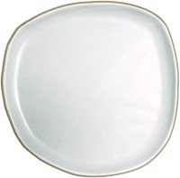 Handmade Fennel Dinner Plate - Natural Collection Select