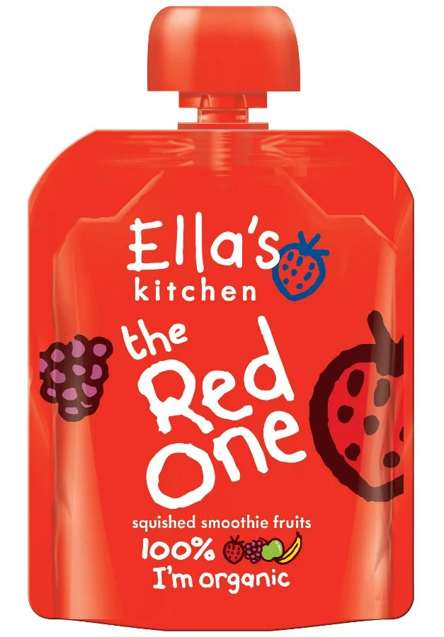 ellas kitchen baby food cabinet degreaser ella's the red one smoothie fruit -