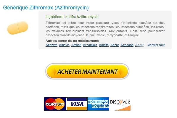 Zithromax prix