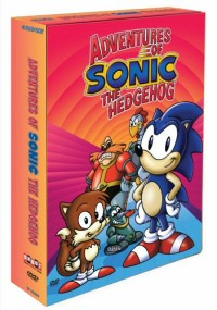 Adventures of Sonic the Hedgehog DVD cover art
