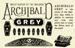Dollar Dreadful snippet: Archibald Grey