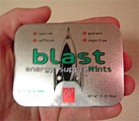 Bally Blast Wintergreen Mints