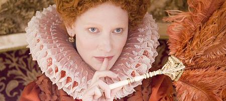 Cate Blanchett as Queen Elizabeth in Elizabeth: The Golden Age