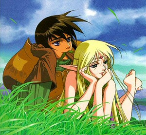 Deedlit and Parn from Record of Lodoss War