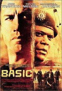 Cover for the DVD Basic starring John Travolta and Sam Jackson