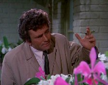 Peter Falk IS Columbo, bitches