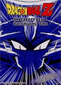 DVD cover art for Dragonball Z: Imperfect Cell: Race Against Time