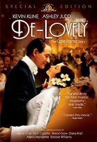 DVD cover art for De-Lovely