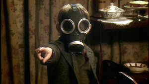 Creepy kid in a gas mask from Doctor Who: The Complete First Series (2005)