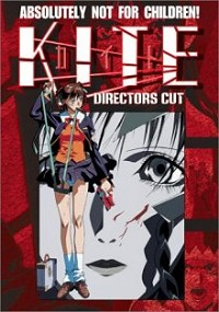 DVD cover art for Kite: Director's Cut