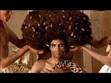 The world's largest fro, from Nefertiti Resurrected