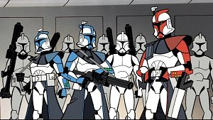 Troopers from Star Wars: Clone Wars, Vol. 1