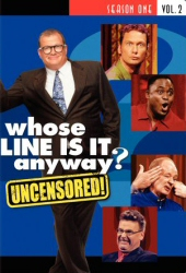 Whose Line is it Anyway? (US version) Season 1, Vol. 2 DVD cover art