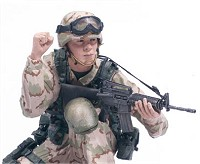 Redeployed Army Ranger