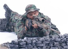 Redeployed Marine Corps Recon Sniper