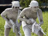 Special forces mimes?  WTF, people...