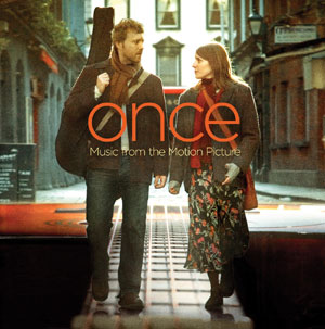 DVD cover art for the Once soundtrack