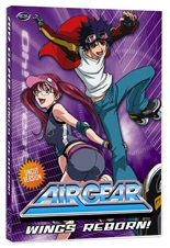 DVD cover art for Air Gear: Wings Reborn