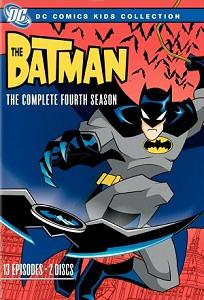 Batman: The Complete Fourth Season DVD cover art
