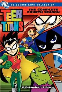 Teen Titans: The Complete Fourth Season DVD cover art