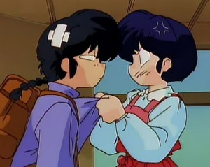 Ranma and Akane from Ranma ½