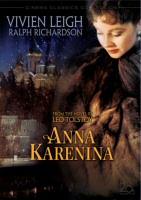 Anna Karenina DVD cover art