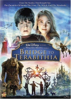 Bridge to Terabithia DVD cover art