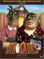 DVD cover art for Dinosaurs: The Complete Third and Fourth Seasons