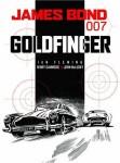 James Bond 007: Goldfinger graphic novel cover art