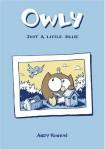 Owly: Just a Little Blue book cover art