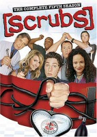 DVD cover art for Scrubs: The Complete Fifth Season