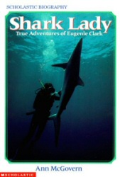 Shark Lady book cover art