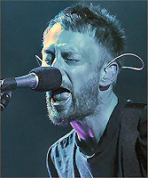 Thom Yorke, presumably singing
