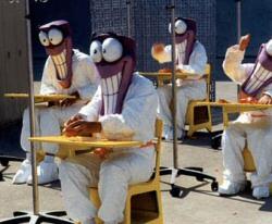 Tim Baker's 'Tonic' masks for Playstation
