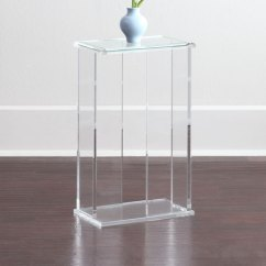 Kids Round Chair Velvet Dining Chairs Canada Interlude Home Chase Acrylic End Table | Neiman Marcus