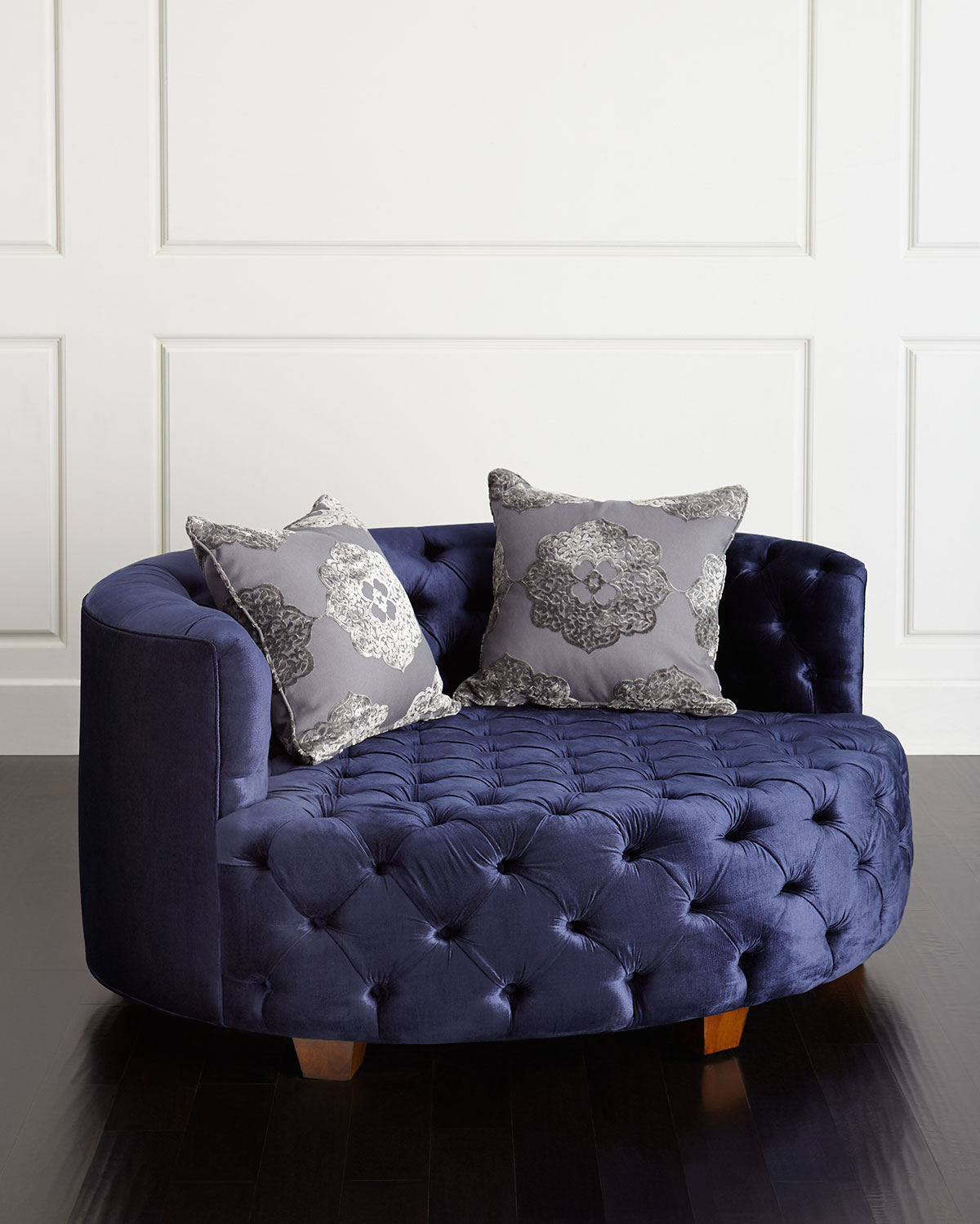 swivel cuddle chair york dining chairs tufted haute house rockwell neiman marcus houserockwell