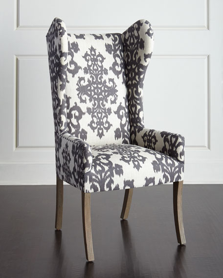 White Tufted Accent Chair