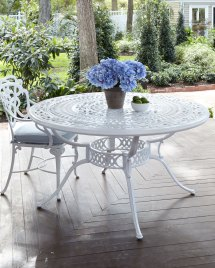 Brown Jordan Day Lily Outdoor Dining Table Neiman