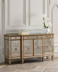 Amelie Mirrored Buffet | Neiman Marcus